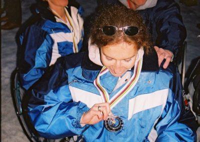 Mistrzostwa Świata Ski Anzere 2000  19 - Start Poznań