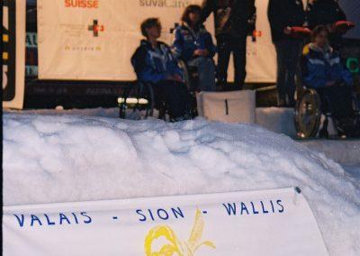 Mistrzostwa Świata Ski Anzere 2000  18 - Start Poznań