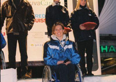 Mistrzostwa Świata Ski Anzere 2000  17 - Start Poznań
