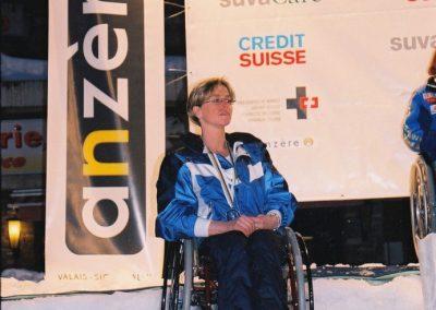 Mistrzostwa Świata Ski Anzere 2000  16 - Start Poznań