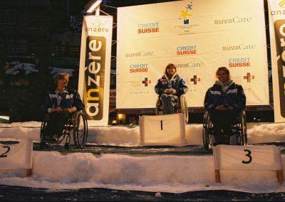 Mistrzostwa Świata Ski Anzere 2000  15 - Start Poznań