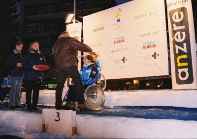 Mistrzostwa Świata Ski Anzere 2000  14 - Start Poznań
