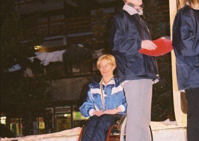 Mistrzostwa Świata Ski Anzere 2000  13 - Start Poznań