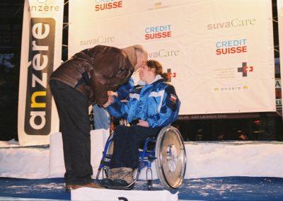 Mistrzostwa Świata Ski Anzere 2000  12 - Start Poznań