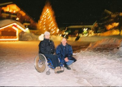 Mistrzostwa Świata Ski Anzere 2000  11 - Start Poznań
