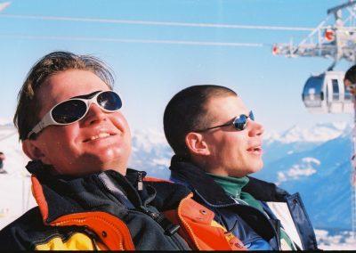 Mistrzostwa Świata Ski Anzere 2000  9 - Start Poznań