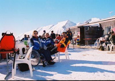 Mistrzostwa Świata Ski Anzere 2000  8 - Start Poznań