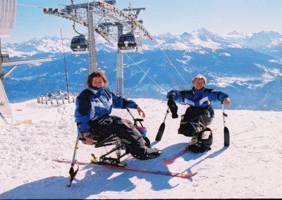 Mistrzostwa Świata Ski Anzere 2000  7 - Start Poznań