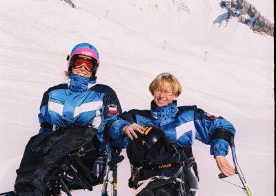 Mistrzostwa Świata Ski Anzere 2000  5 - Start Poznań