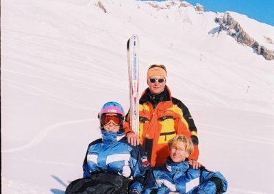 Mistrzostwa Świata Ski Anzere 2000  4 - Start Poznań