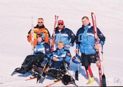 Mistrzostwa Świata Ski Anzere 2000  3 - Start Poznań
