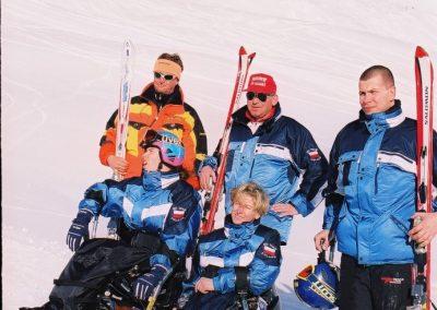 Mistrzostwa Świata Ski Anzere 2000  2 - Start Poznań