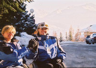 Mistrzostwa Świata Ski Anzere 2000  1 - Start Poznań