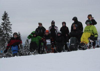 Obóz szkoleniowy Mono-ski Białka Tatrzańska 2013 10 - Start Poznań