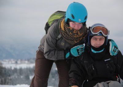 Obóz szkoleniowy Mono-ski Białka Tatrzańska 2013 11 - Start Poznań