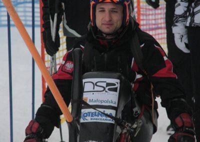 Obóz szkoleniowy Mono-ski Białka Tatrzańska 2013 12 - Start Poznań