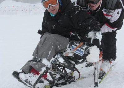 Obóz szkoleniowy Mono-ski Białka Tatrzańska 2013 14 - Start Poznań