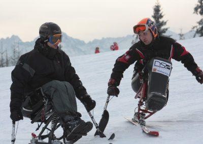 Obóz szkoleniowy Mono-ski Białka Tatrzańska 2013 17 - Start Poznań