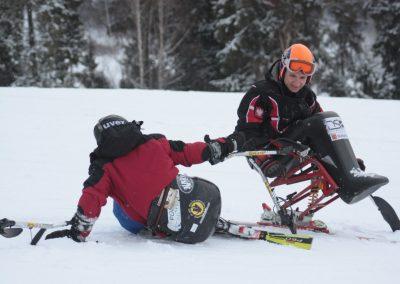 Obóz szkoleniowy Mono-ski Białka Tatrzańska 2013 20 - Start Poznań