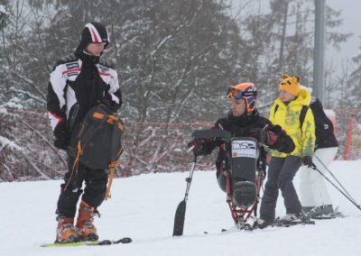 Obóz szkoleniowy Mono-ski Białka Tatrzańska 2013 22 - Start Poznań