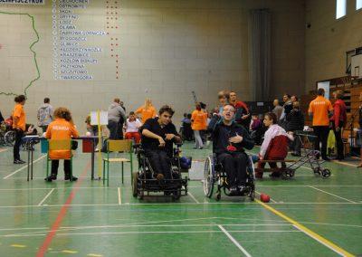 Pierwsze Mistrzostwa Polski Bocci Skoki 2010  5 - Start Poznań