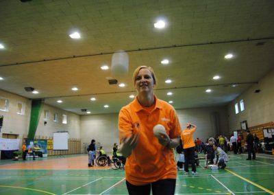 Pierwsze Mistrzostwa Polski Bocci Skoki 2010  7 - Start Poznań