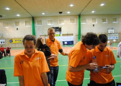 Pierwsze Mistrzostwa Polski Bocci Skoki 2010  9 - Start Poznań
