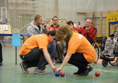 Pierwsze Mistrzostwa Polski Bocci Skoki 2010  11 - Start Poznań