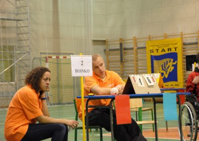 Pierwsze Mistrzostwa Polski Bocci Skoki 2010  13 - Start Poznań