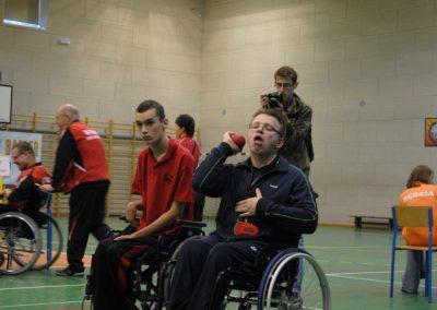Pierwsze Mistrzostwa Polski Bocci Skoki 2010  19 - Start Poznań