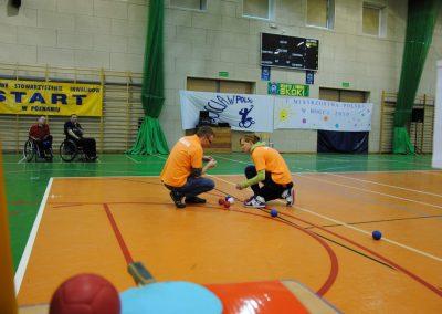 Pierwsze Mistrzostwa Polski Bocci Skoki 2010  21 - Start Poznań