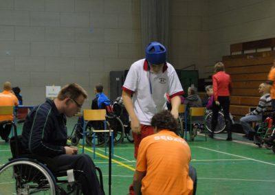 Pierwsze Mistrzostwa Polski Bocci Skoki 2010  22 - Start Poznań