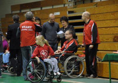 Pierwsze Mistrzostwa Polski Bocci Skoki 2010  23 - Start Poznań