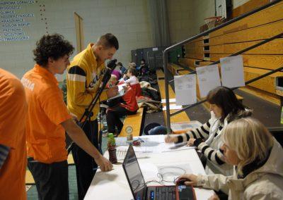 Pierwsze Mistrzostwa Polski Bocci Skoki 2010  24 - Start Poznań