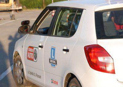Projekt AUTO START ze Szkołą Auto 2009  2 - Start Poznań