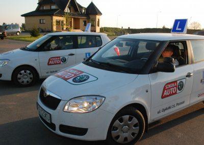 Projekt AUTO START ze Szkołą Auto 2009  5 - Start Poznań
