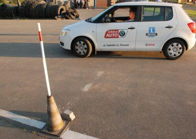 Projekt AUTO START ze Szkołą Auto 2009  8 - Start Poznań