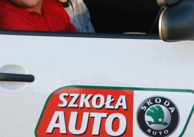 Projekt AUTO START ze Szkołą Auto 2009  9 - Start Poznań