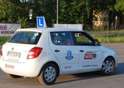 Projekt AUTO START ze Szkołą Auto 2009  11 - Start Poznań
