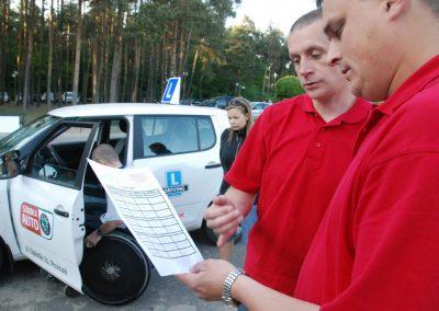 Projekt AUTO START ze Szkołą Auto 2009  16 - Start Poznań