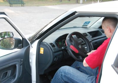 Projekt AUTO START ze Szkołą Auto 2009  18 - Start Poznań