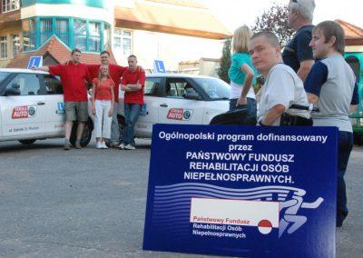 Projekt AUTO START ze Szkołą Auto 2009  22 - Start Poznań