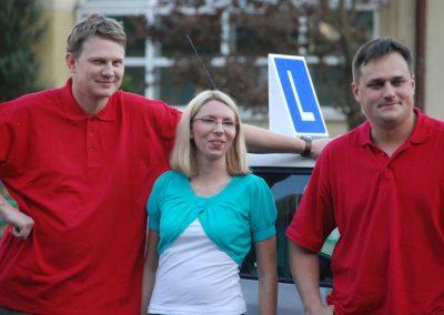 Projekt AUTO START ze Szkołą Auto 2009  24 - Start Poznań