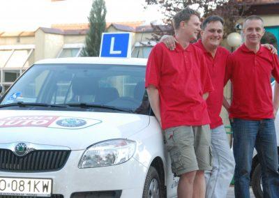 Projekt AUTO START ze Szkołą Auto 2009  28 - Start Poznań