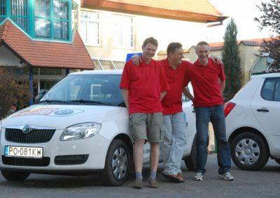 Projekt AUTO START ze Szkołą Auto 2009  30 - Start Poznań