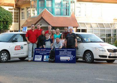 Projekt AUTO START ze Szkołą Auto 2009  32 - Start Poznań