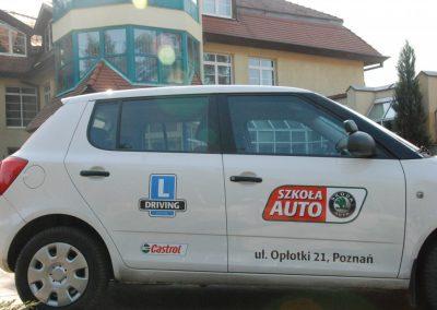 Projekt AUTO START ze Szkołą Auto 2009  34 - Start Poznań