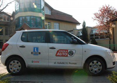 Projekt AUTO START ze Szkołą Auto 2009  35 - Start Poznań