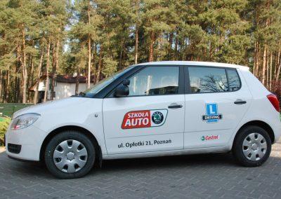 Projekt AUTO START ze Szkołą Auto 2009  36 - Start Poznań
