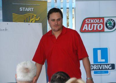 Projekt AUTO START ze Szkołą Auto 2009  45 - Start Poznań